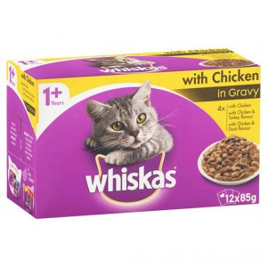 Whiskas Adult Cat Food With Chicken