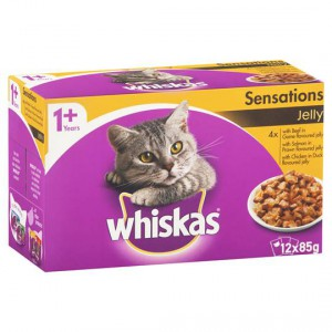 Whiskas Adult Cat Food Sensations In Jelly