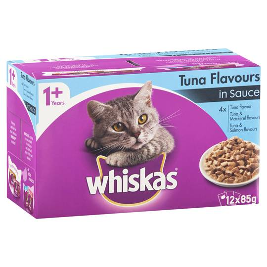 Whiskas Adult Cat Food Tuna Flavour