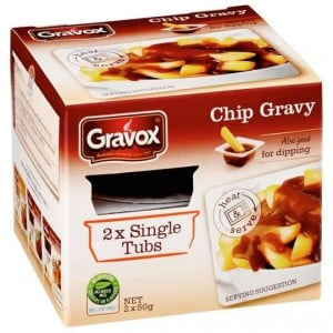 Gravox Chip Gravy Single Serve Tub