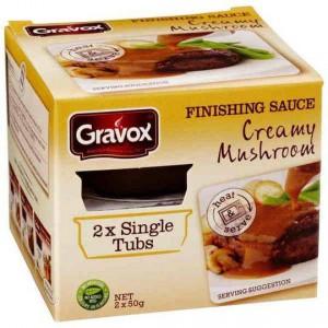 Gravox Mushroom Gravy Single Serve Tub
