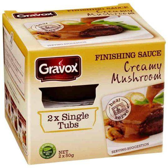 Gravox Mushroom Gravy Single Serve Tub