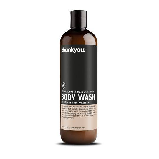 Thankyou Botanical Sweet Orange & Almond Body Wash