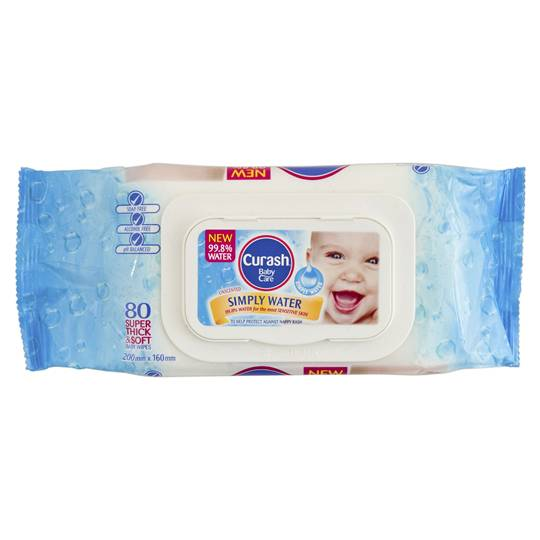 mom322008 reviewed Curash Water Wipes
