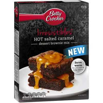 Betty Crocker Brownie Mix Salted Caramel