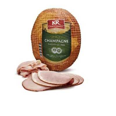 Krc Ham Champagne Sliced