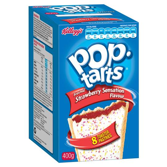 Kellogg's Strawberry Sensation Pop Tarts