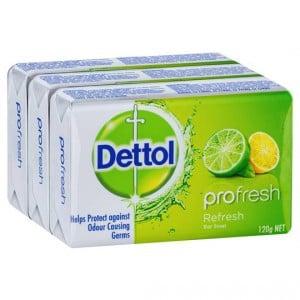 Dettol Bar Soap Citrus Splash