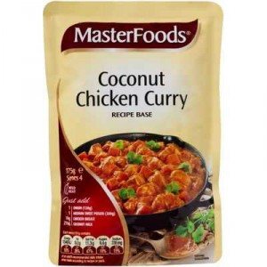 Masterfoods Recipe Base Coconut Chicken Curry