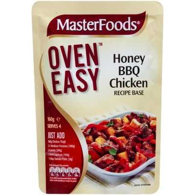 Masterfoods Recipe Base Honey Bbq Chicken
