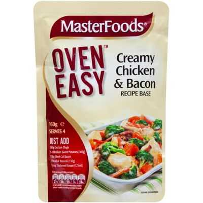 Masterfoods Recipe Base Creamy Chicken & Bacon
