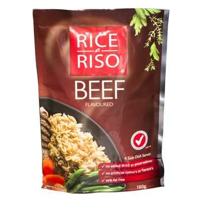 Rice A Riso Flavoured Rice Beef