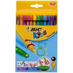 Bic Kids Crayons Turn & Colour