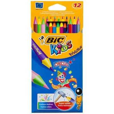 Bic Kids Circus Pencils Pencil Circus