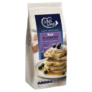 White Wings Pancake Mix Blueberry Buttermilk