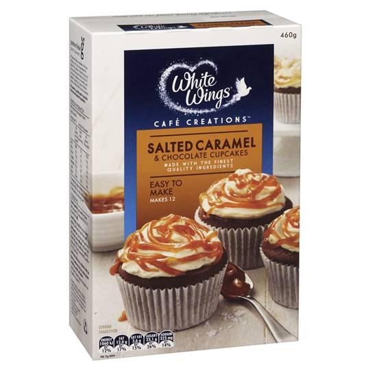 White Wings Cupcake Mix Salted Caramel & Chocolate