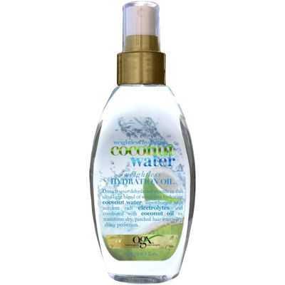 Organix Coconut Water Treatment Weightless Hydration Oil