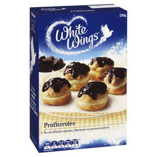 White Wings Dessert Mix Chocolate Profiteroles