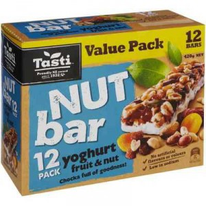 Tasti Nut Bar Yoghurt Fruit & Nut