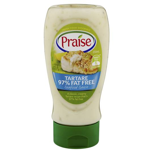 Praise Tartare Sauce 97% Fat Free
