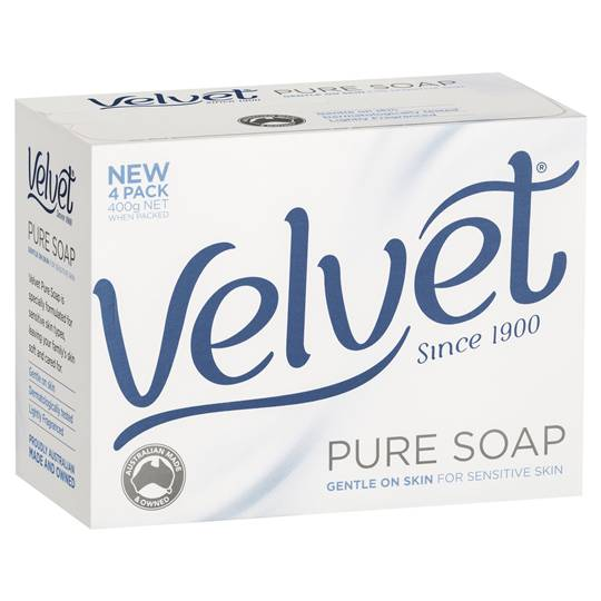 Velvet Bar Soap Pure