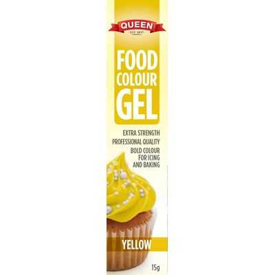 Queen Food Colouring Gel Yellow