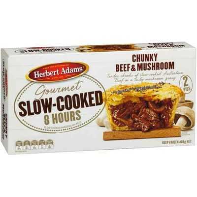Herbert Adams Pies Chunky Slow Cooked Beef & Mush
