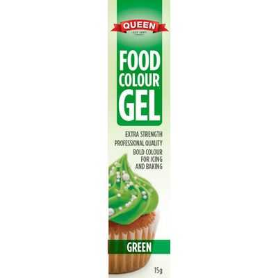 Queen Food Colouring Gel Green