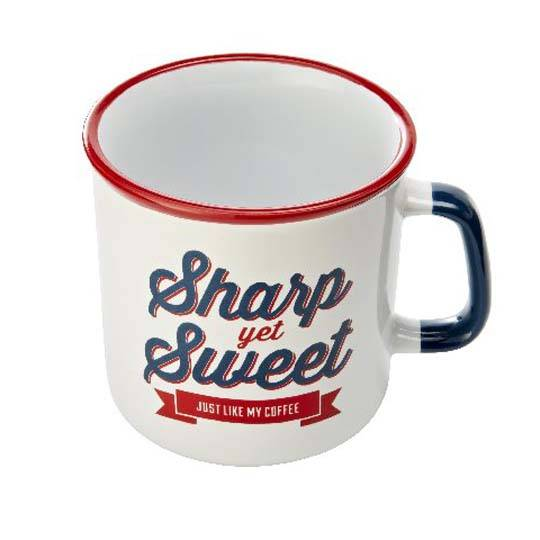Jamie Oliver Slogan Mug Red & Blue