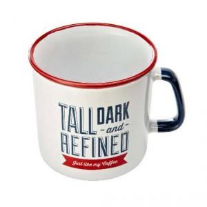 Jamie Oliver Slogan Mug Red & Light Blue