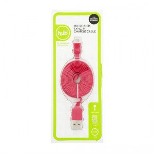Hub It Sync & Charge Micro Usb Flat Cable