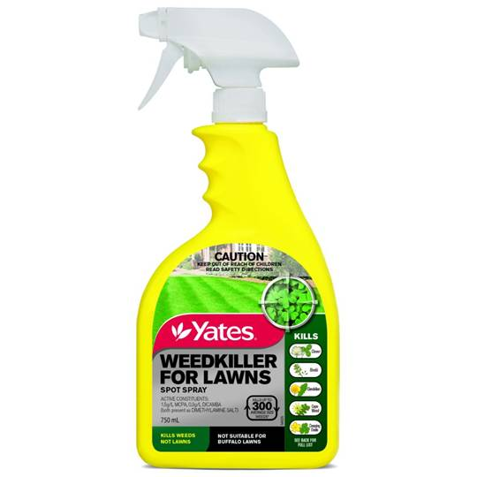 Yates Garden Weedkiller For Lawns