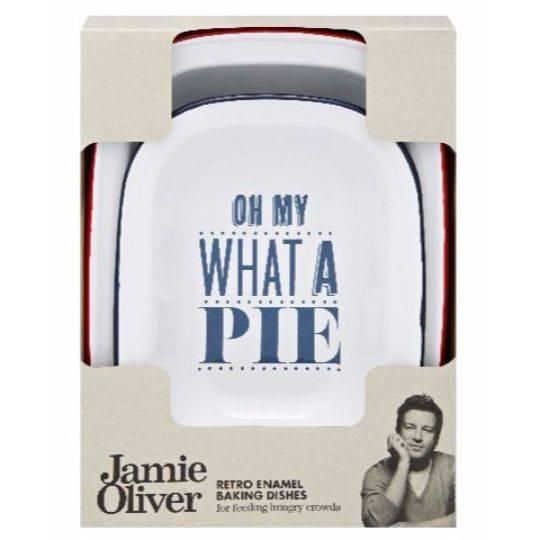 Jamie Oliver Enamel Dish Set Pies