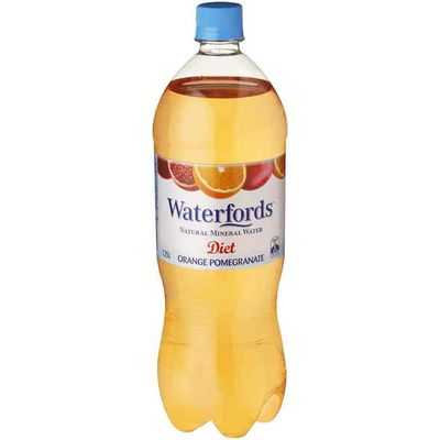 Waterfords Diet Orange & Pommegranate Mineral Water