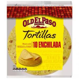 Old El Paso Tortillas Enchilada