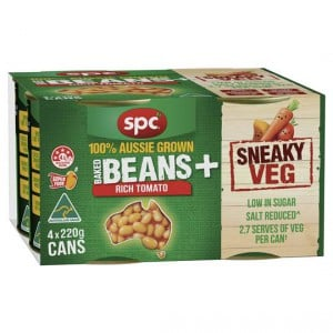 Spc Baked Beans With Sneaky Veg