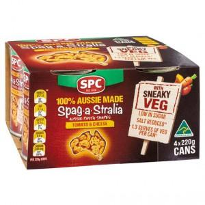 Spc Spaghetti Spag A Stralia With Sneaky Veg