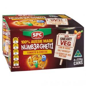 Spc Spaghetti Numberghetti With Sneaky Veg