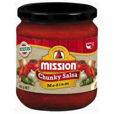 Mission Sauce Salsa Medium
