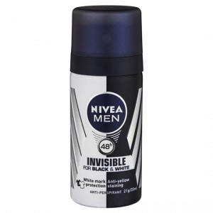 Nivea Men Deodorant Aerosol Black & White