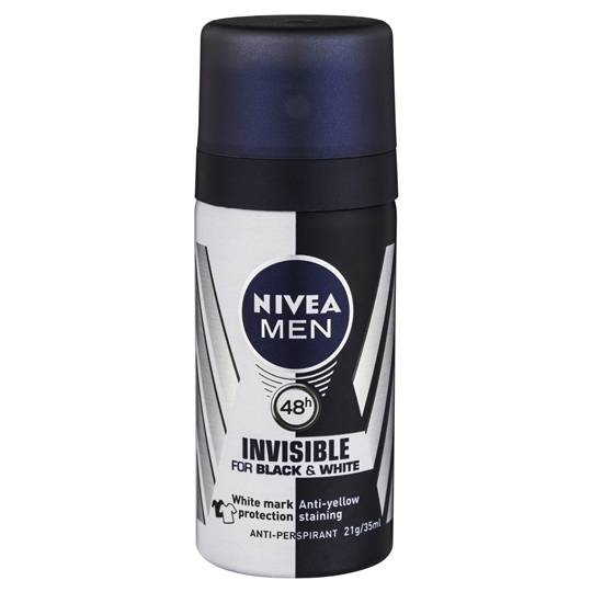Nivea Men Deodorant Aerosol Black & White