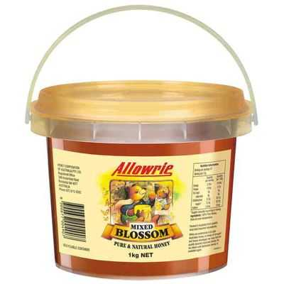 Allowrie Mixed Blossom Honey