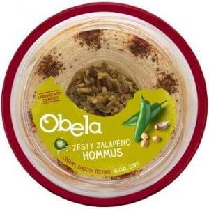 Obela Hommus Garnished With Zesty Jalapenos