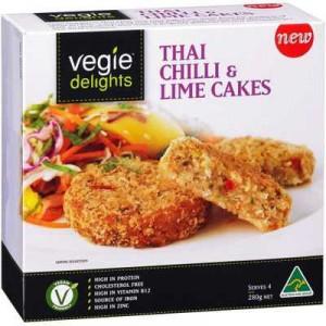 Vegie Delights Thai Chilli & Lime Cake