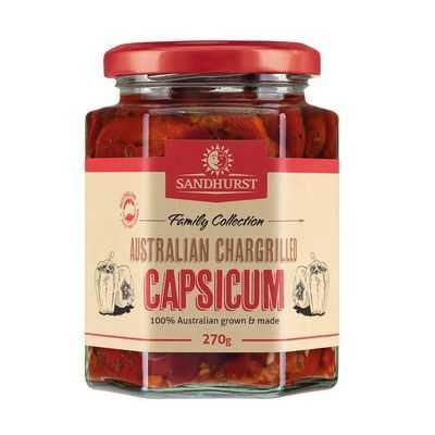Sandhurst Australian Chargrilled Capsicum