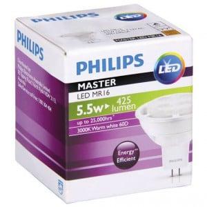 Philips Led 12v Downlight Warm White 5.5w 60 Degree