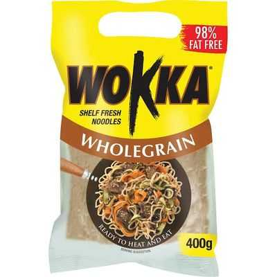 Wokka Noodles Wholegrain