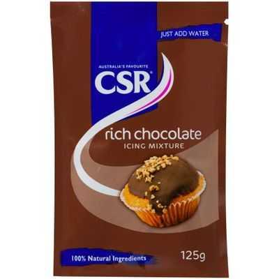 Csr Icing Sugar Mix Rich Chocolate