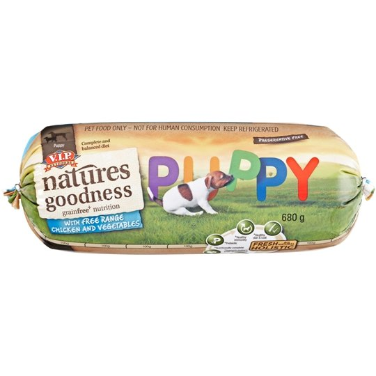 Vip Nature Goodness Puppy Food Gluten Free