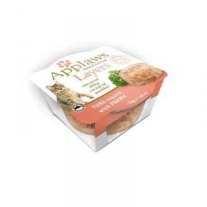 Applaws Adult Cat Food Natural Food Tuna & Prawn